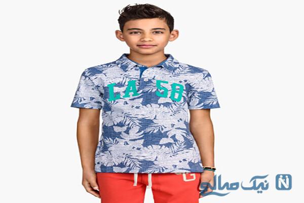 جدیدترین مدل پیراهن و تی شرت پسر بچه ها