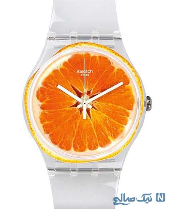 مدل ساعت پرتقالی