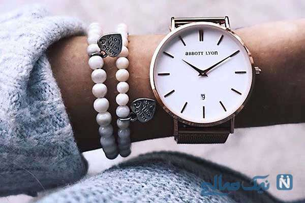 خوشگل ترین مدل ساعت های رنگی زنانه