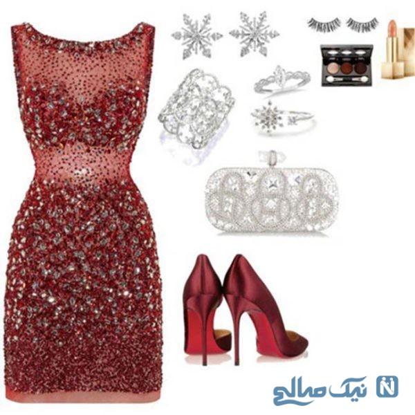 ست لباس شب زنانه