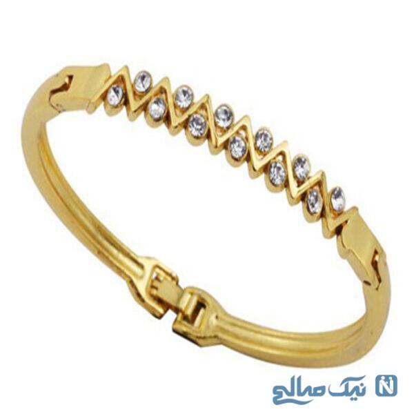 مدل دستبندهای طلای دخترانه