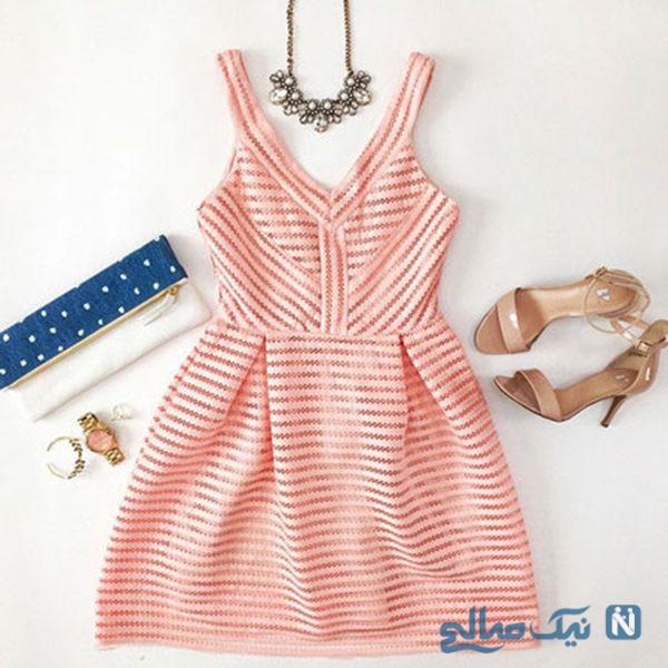 ست لباس تابستانی دخترانه