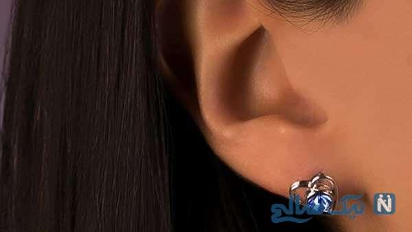 مدل گوشواره زیبا با طراحی خلاقانه