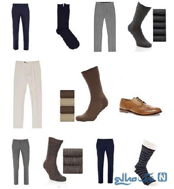 مدل جوراب و کفش و شلواری