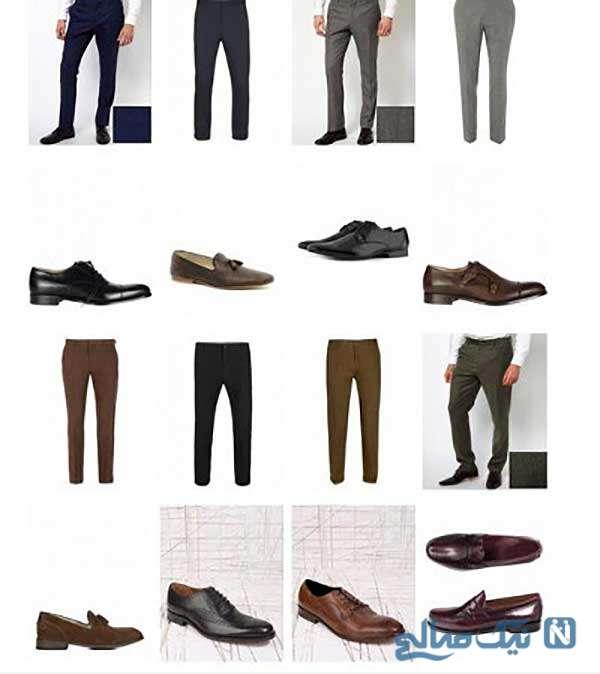همیشه در نظر داشته باشید که جورابتان تیره تر از شلوارتان باشد