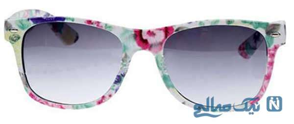 عینک هایی با فریم طرح دار