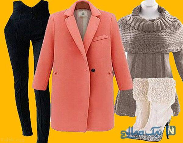 ست لباس های زمستانی زنانه