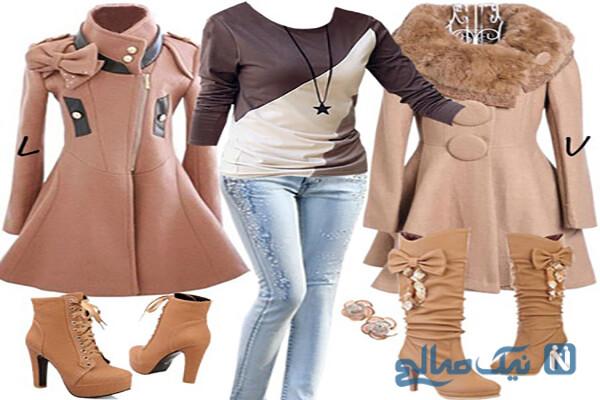 جدیدترین ست های لباس زمستانی زنانه