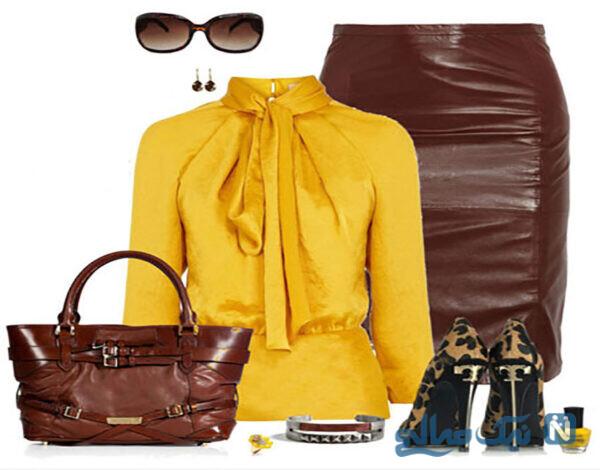 انتخاب بهترین رنگ لباس زنانه