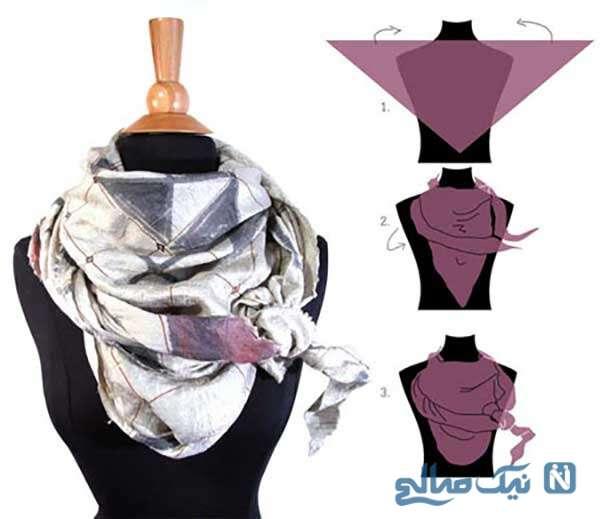 مناسب برای پیراهنهای ساده زمستانی با آستین بلند و قد دامن زیر زانو