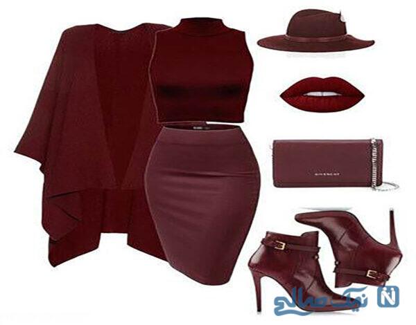 شیک ترین ست لباس مجلسی زنانه