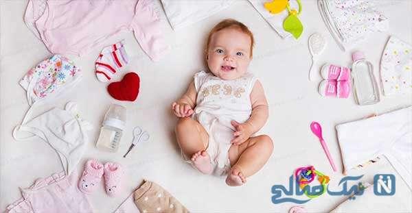 زیباترین مدل لباس های نوزادی