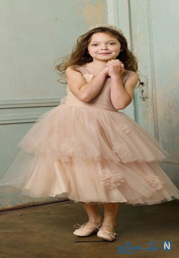 لباس عروس بچه گانه دخترانه