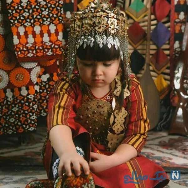زیورهای موی زنان ترکمن
