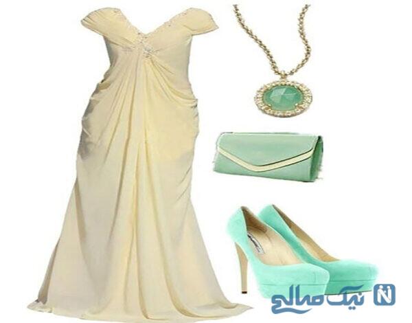 ست لباس و جواهرات