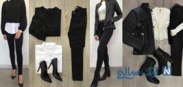 ست کردن لباس پاییزی به پیشنهاد مجله ELLE + تصاویر