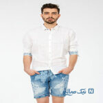 شیک ترین مدل شلوارک جین مردانه