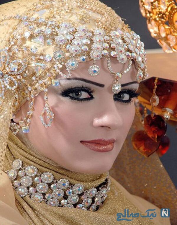 حجاب و اکسسوری عروس