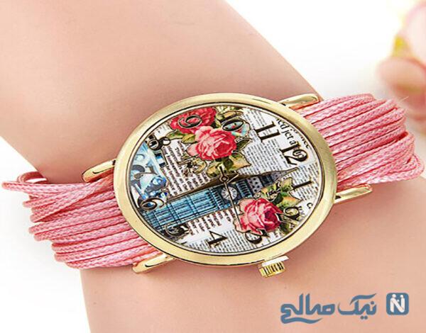مدل ساعت دخترانه خوشگل