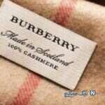 مدل شال و روسری از برند BURBERRY