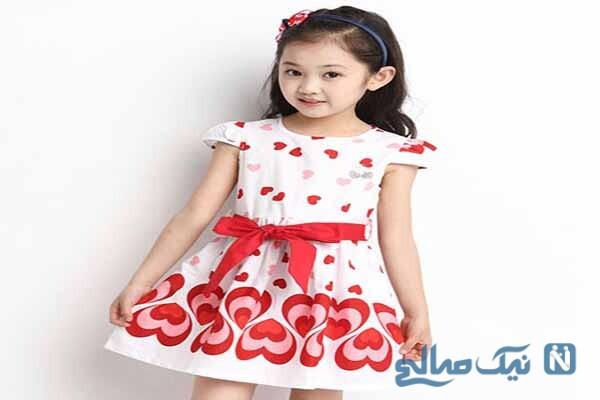 مدل لباس دخترانه برند AMILAHW
