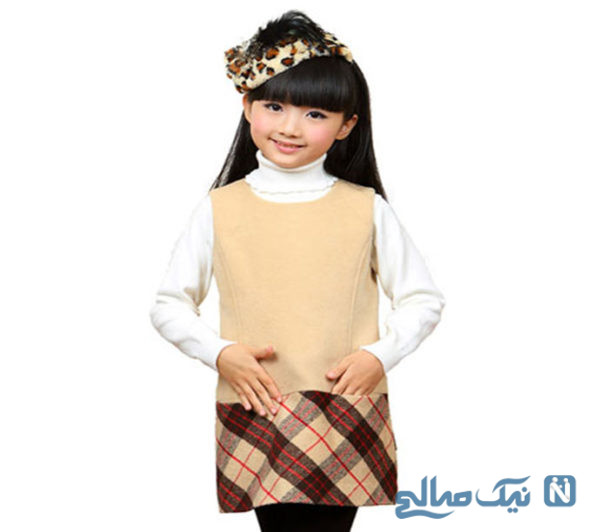 مدل لباس دخترانه شیک