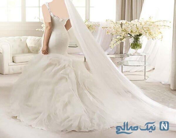 پیراهن عروس شیک