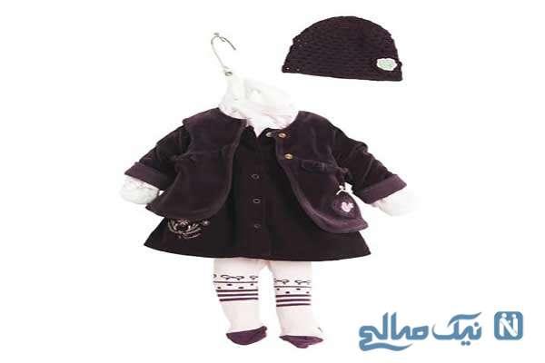 مدل لباس نوزادی برند ۳POMMES