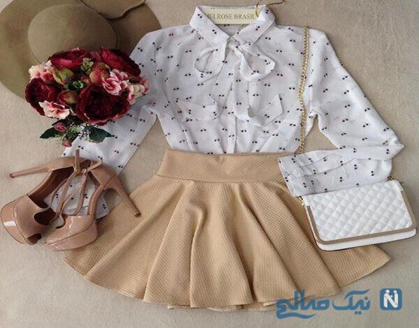 مدل لباس های قشنگ دخترانه