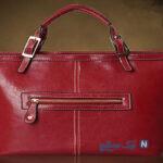 مدل کیف دخترانه به رنگ عنابی و شرابی