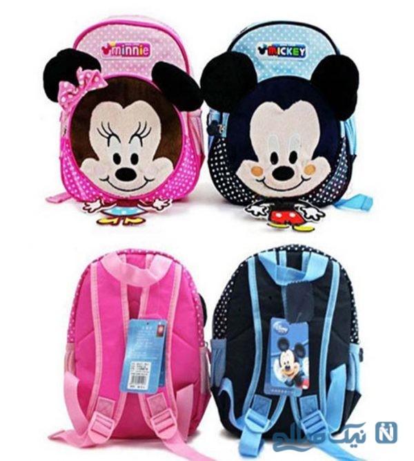 کیف مدرسه ای دخترانه