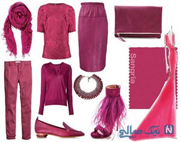 رنگ های مناسب لباس های پاییزی