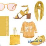 ست لباس زنانه رنگی مناسب فصل پاییز