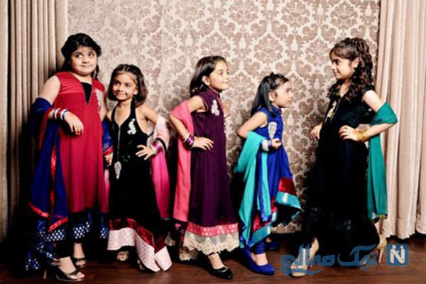 مدل لباس دختربچه های هندی