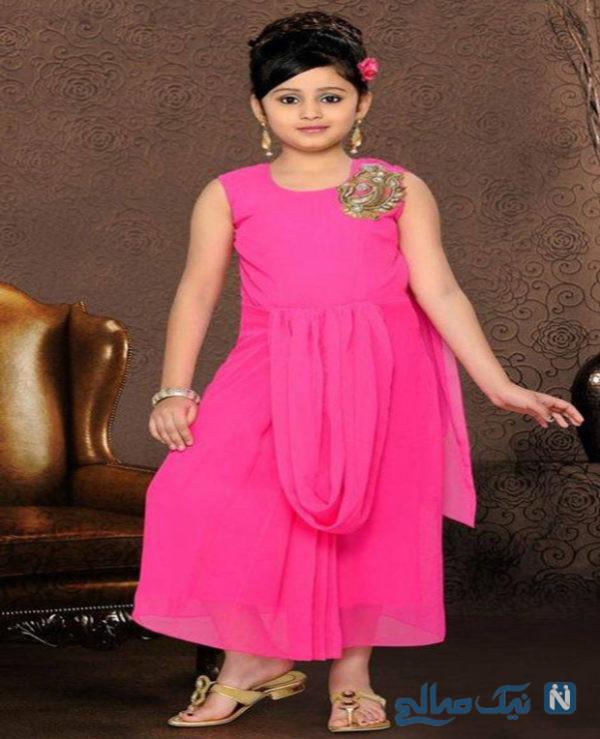 مدل لباس دختر بچه های هندی