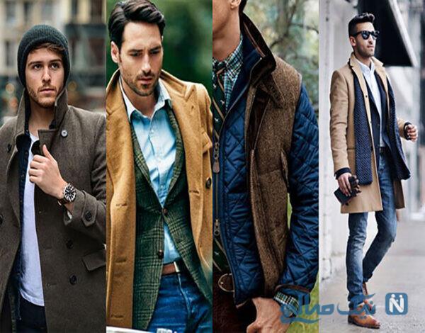 لباس های زمستانی مردانه شیک