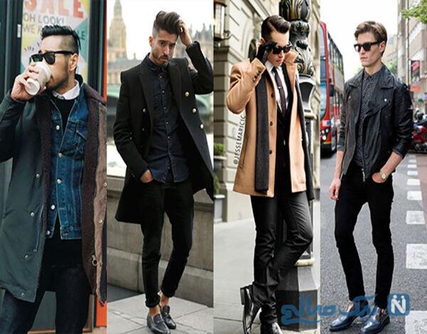ایده هایی برای لباس زمستانی مردانه