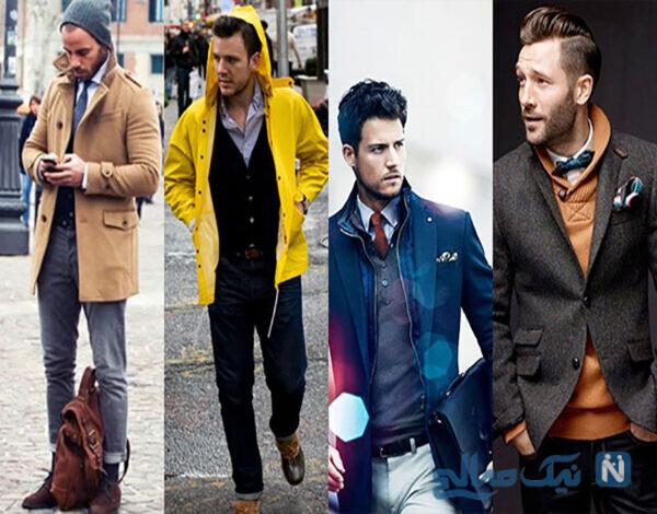 ژورنال لباس زمستانی برای آقایان