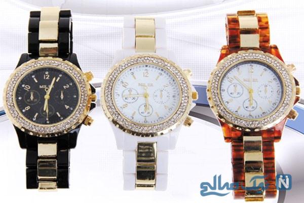 شیک ترین مدلهای ساعت مچی زنانه بسیار زیبا +تصاویر