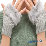 مدل دستکش بافتنی جدید دخترانه برای متفاوت بودن