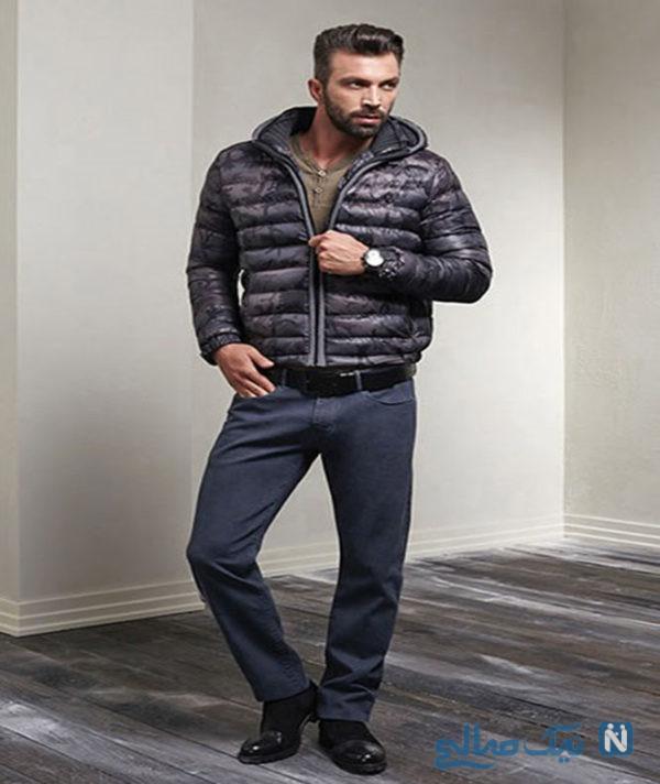 ست لباس زمستانه مردانه