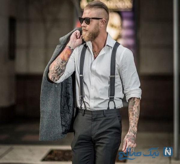 استایل مردانه با ساس بند