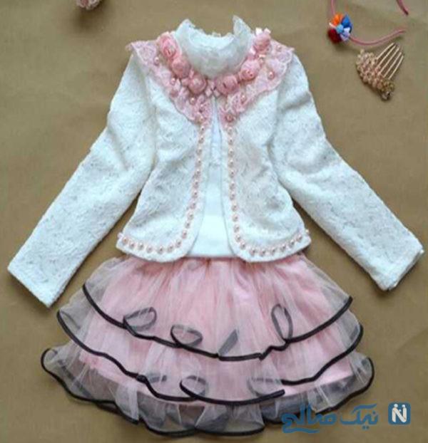 لباس های مجلسی اسپرت دخترانه