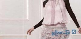 جدیدترین مدلهای پیراهن کوتاه گیپور بسیار شیک دخترانه