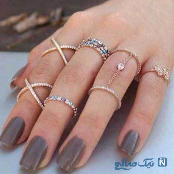 مدل انگشتر بند انگشتی