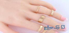 جدیدترین و زیباترین مدل انگشتر بند انگشتی دخترانه+تصاویر