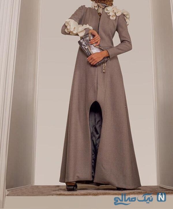 مدل مانتو ایرانی بلند