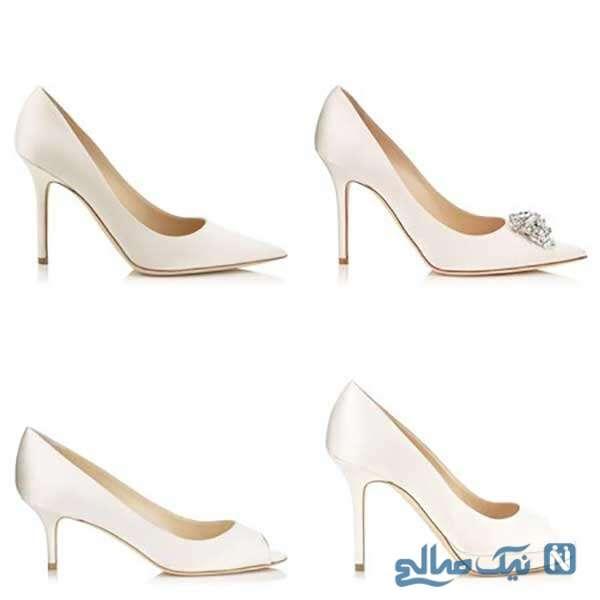 انواع مدلهای کفش عروس