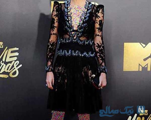 مدل لباس ستارگان هالیوودی