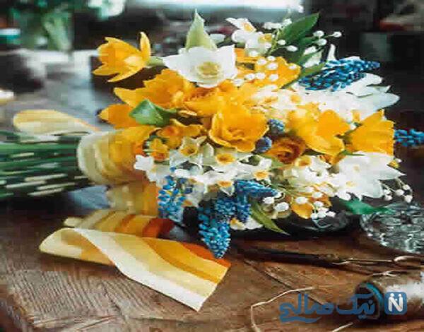 عکس دسته گلهای خاص عروس